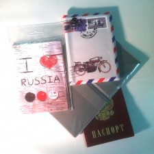 Обложки для паспорта с полноцветным нанесением