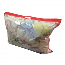 Упаковка для подушек на молнии с вырубной ручкой