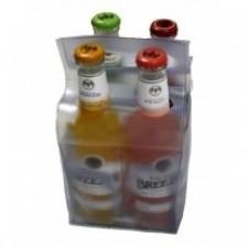 Упаковка для бутылок с вырубными ручками